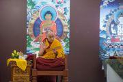 Его Святейшество Далай-лама дарует учения по основам буддизма. Дели, Индия. 22 марта 2014 г. Фото: Тензин Чойджор (офис ЕСДЛ)