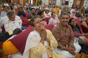 Второй день трехдневных учений Его Святейшества Далай-ламы по основам буддизма. Дели, Индия. 22 марта 2014 г. Фото: Тензин Чойджор (офис ЕСДЛ)