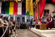 Его Святейшество Далай-лама в храме Риннандзи. Осака, Япония. 9 апреля 2014 г. Фото: Тибетский офис в Японии