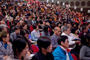 На учениях Его Святейшества Далай-ламы. Коясан, Япония. 13 апреля 2014 г. Фото: Тибетский офис в Японии