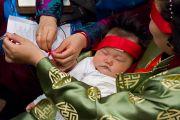 Во время посвящения Вайрочаны Абхисамбодхи. Коясан, Япония. 14 апреля 2014 г. Фото: Тибетский офис в Японии