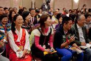 Во время встречи Его Святейшества Далай-ламы с группами из Тайваня, Макао, Гонконга и Китая. Токио, Япония. 18 апреля 2014 г. Фото: Тибетский офис в Японии