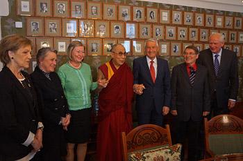Далай-ламу тепло встретили в Осло