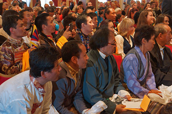 Далай-лама посетил норвежский парламент и Нобелевский центр мира