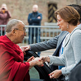 Далай-лама встретился с членами комитета по международным делам голландского парламента и с друзьями Тибета