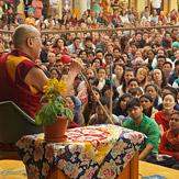 Далай-лама провел в Дхарамсале публичную аудиенцию для иностранцев