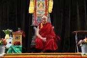 На встрече Его Святейшества Далай-ламы с тибетцами, живущими в странах Северной Европы. Роттердам, Голландия. 10 мая 2014 г. Фото: Jeppe Schilder