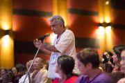 """Третий день учений Его Святейшества Далай-ламы в """"Сомая Видьявихаре"""". Мумбаи, Индия. 1 июня 2014 г. Фото: Тензин Чойджор (офис ЕСДЛ)"""