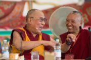 Его Святейшество Далай-лама в Институте ламы Цонкапы. Помая, Тоскана, Италия. 13 июня 2014 г. Фото: FilmPRO