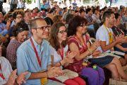 Во время учений Его Святейшества Далай-ламы в институте ламы Цонкапы в Помае. Тоскана, Италия. 13 июня 2014 г. Фото: FilmPRO