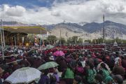 Второй день учений Его Святейшества Далай-ламы в Падуме. Занскар, штат Джамму и Кашмир, Индия. 24 июня 2014 г. Фото: Тензин Чойджор (офис ЕСДЛ)