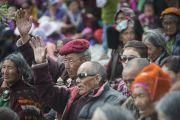 Заключительный день учений Его Святейшества Далай-ламы в Падуме. Занскар, штат Джамму и Кашмир, Индия. Фото: Тензин Чойджор (офис ЕСДЛ)
