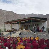 В Ликире Далай-лама даровал учения о пустоте и взаимозависимом возникновении