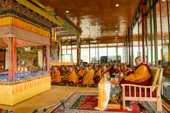 В Лехе Далай-лама приступил к 33-му посвящению Калачакры