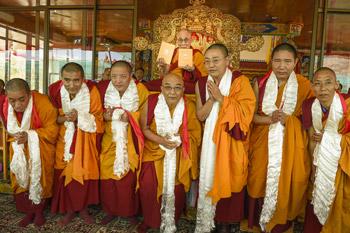 Празднование 79-го дня рождения Его Святейшества Далай-ламы и предварительные учения перед посвящением Калачакры