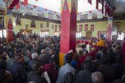 Его Святейшество Далай-лама в храме Джокханг в Лехе. Ладак, штат Джамму и Кашмир, Индия. 29 июня 2014 г. Фото: Тензин Чойджор (офис ЕСДЛ)