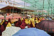 Четвертый день учений Калачакры, которые Его Святейшество Далай-лама дарует в Ладаке. Штат Джамму и Кашмир, Индия. 6 июля 2014 г. Фото: Мануэль Бауэр.