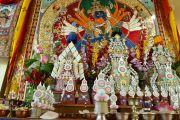Подношения, приготовленные для посвящения Калачакры. Лех, Ладак, штат Джамму и Кашмир, Индия. 9 июля 2014 г. Фото: Мануэль Бауэр.