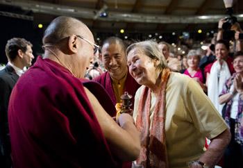 Его Святейшество Далай-лама выразил соболезнования в связи с кончиной Амы Вигер
