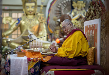 Далай-лама начал учения для тайваньских буддистов в Дхарамсале