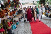 Нобелийн шагналтнуудыг хүлээн авч уулзав. Энэтхэг, Дарамсала. 2014.10.02.