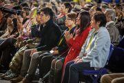 Слушатели в зале во время утренней сессии учений Его Святейшества Далай-ламы. Ванкувер, Канада. 23 октября 2014 г. Фото: Пола Уоллис