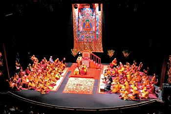 В Нью-Йорке прошел второй день учений Далай-ламы по сочинению Чже Цонкапы «Сущность красноречивых изречений»