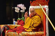 Его Святейшество Далай-лама дарует буддийские учения в бостонском центре изобразительных искусств. 30 октября 2014 г. Бостон, штат Массачусетс, США. Фото: Сонам Зоксанг