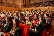 В зале во время 14-го Всемирного саммита лауреатов Нобелевской премии мира. Рим, Италия. 12 декабря 2014 г. Фото: Olivier Adams