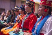 На учениях Его Святейшества Далай-ламы для буддистов России в Дели (Индия). 18 декабря 2014 г. Фото: Тензин Чойджор (офис ЕСДЛ)