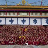 Последний день визита Далай-ламы в Мундгод