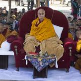 Далай-лама прибыл в Санкису