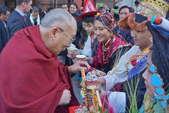 Далай-лама прибыл в Вашингтон