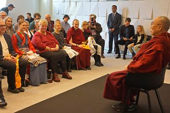 Далай-лама встретился с тибетцами в Тронхейме и Копенгагене
