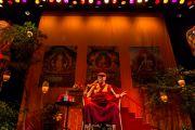 """Его Святейшество Далай-лама читает лекцию """"Сила через сострадание и единение"""" в конференц-центре """"Белла"""". Дания, Копенгаген. 11 февраля 2015 г. Фото: Элона Шегрен."""