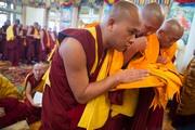 Дээрхийн Гэгээнтэн Далай Лам сахил хүртээв - Дарамсала, Х.П - 2015.03.03