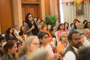 В Дели Далай-лама встретился с индийцами и завершил короткие учения по «Коренным строфам о срединности»