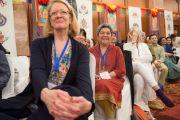 """Во время учений Его Святейшества Далай-ламы по произведению Нагарджуны """"Коренные строфы о срединности"""". Дели, Индия. 21 марта 2015 г. Фото: Тензин Чойджор (офис ЕСДЛ)"""