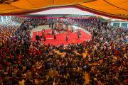 Открытие 20-го фестиваля тибетской оперы Шотон в Тибетском институте театрального искусства (TIPA). Дхарамсала, Индия. 27 марта 2015 г. Фото: Тензин Чойджор (офис ЕСДЛ)