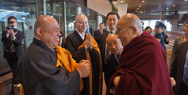 Начался визит Его Святейшества Далай-ламы в Японию