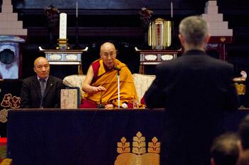 Далай-лама прочел публичную лекцию в храме Соудзи в Токио