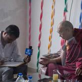 Его Святейшество Далай-лама принял участие в открытии нового новостного веб-сайта