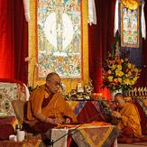 Заключительный день учений Далай-ламы в Леуре