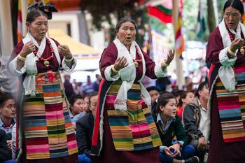 Молебен о долголетии Его Святейшества Далай-ламы и празднование его дня рождения