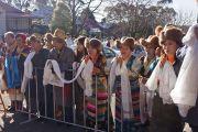 В ожидании Его Святейшества Далай-ламы. Катумба, штат Новый Южный Уэльс, Австралия. 7 июня 2015 г. Фото: Джереми Рассел (офис ЕСДЛ)
