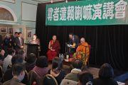 Его Святейшество Далай-лама на встрече с китайскими интеллектуалами, писателями и демократическими активистами. Катумба, штат Новый Южный Уэльс, Австралия. 7 июня 2015 г. Фото: Джереми Рассел (офис ЕСДЛ)