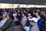 Во время лекции Его Святейшества Далай-ламы в школе Катумбы. Голубые горы, штат Новый Южный Уэльс, Австралия. 8 июня 2015 г. Фото: Расти Стюарт