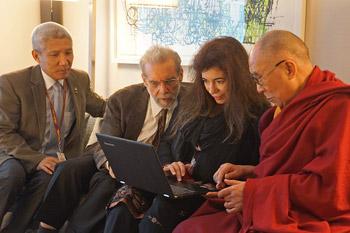 В Нью-Йорке Далай-лама даровал учения по трактату Камалашилы «Ступени созерцания»