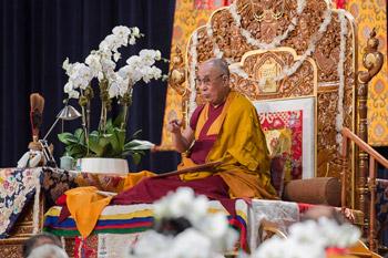 Посвящение Белой Тары и молебен о долголетии Его Святейшества Далай-ламы в Нью-Йорке
