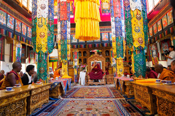 Его Святейшество Далай-лама прибыл в Ладак